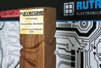 Rutronik von Keystone als Platinum Level Distributor ausgezeichnet