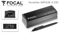 Ultrakompakte Power-Endstufe - Focals 4-Kanal Impulse 4.320