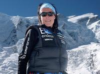 Waschparty mit GORE-TEX® Athletin Edurne Pasaban in Chamonix