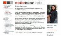 Interview- und Medientraining in Deutsch, Englisch, Spanisch