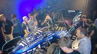 FaSTDa-Team präsentiert neuen F16 beim Rollout