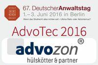 Hülskötter & Partner auf der AdvoTec: Advoware 4.1, E-POST, Advoliga