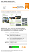 Flyer A4 hoch 6 Seiten Wickel | Gestaltung ab 139 Euro