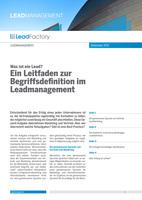 LeadFactory setzt bei der Vermarktung seiner B2B-Reichweite auf TripleDoubleU