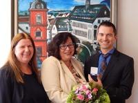 Silbernes Dienstjubiläum am 21. Mai 2016 bei der Rüsselsheimer  Volksbank eG
