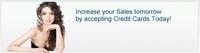 Online VISA Mastercard Kreditkarten Akzeptanz