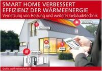 Smart Home verbessert Effizienz der Wärmeenergie