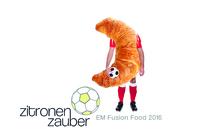 Zitronenzauber.de präsentiert sein EM Fusion Food zur Fußball Europameisterschaft.