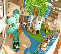 Fantastische Indoor-Kindererlebniswelten