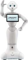 noDNA präsentiert den Serviceroboter Pepper in Deutschland