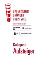 SCHEMA Gruppe gewinnt Bayerischen Gründerpreis!