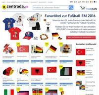 Fußball-EM: Fanartikelgeschäft floriert im Großhandel