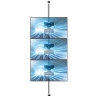 Decken-Boden Säule DBS55 für Schaufenster Monitore bis 55 Zoll