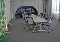 Führungskräfte trainieren im eigenen A320-Simulator in Hamburg