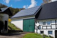 Strom speichern aus Sauerländer Sonnenkraft