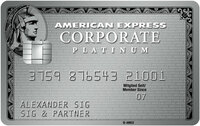 Corporate Cards im Test:  Bestplatzierung für Firmenkreditkarten von American Express