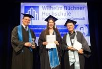 Wilhelm Büchner Hochschule verabschiedet Absolventeninnen und Absolventen