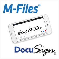 M-Files bietet einfache digitale Unterschrift mit DocuSign