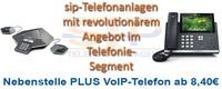 Virtuelle Telefonanlage, Nebenstelle + VoIP-Telefon inklusive