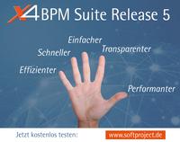 SoftProject veröffentlicht Release 5 der X4 BPM Suite