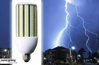 Schutz vor Blitzeinschlägen in LED-Straßenlampen