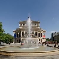 Das Schöne und Gute wahren: Drainagesystem schützt Brunnen vor der Alten Oper vor Frostschäden - dauerhaft