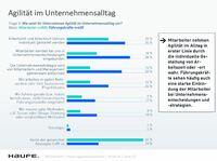 Haufe Agilitätsbarometer: Mehr Schein als Sein