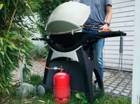 Grillen mit Gas: Vorsicht Flammen