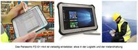 "Panasonic launcht neues ""Full Ruggedized"" 10,1"" Windows Tablet"