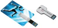 USB-Visitenkarte und USB-Schlüssel erstmals in 3.0 Super-Speed Technologie