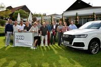 Audi quattro Cup: 100 begeisterte Teilnehmer beim Qualifikationsturnier des Audi Zentrum Stuttgart   im Golf Club Schönbuch