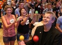 Jonglieren lernen in nur 10 Minuten für alle ab 10 Jahre am 10. Juli in München