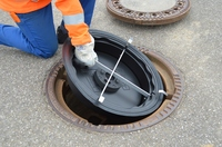 coalsi Aquastop verhindert bei Platzregen die Überlastung von Kanalsystemen