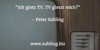 Datenschutz: Ich glotz TV. TV glotzt mich?
