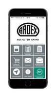 ARDEX App 3.0: neue Navigatoren für die einfache Produktauswahl