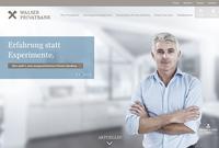 Neuer Webauftritt der Walser Privatbank