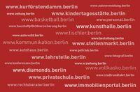 Neue Premium Berlin-Domains