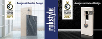 Rokstyle doppelt nominiert für den German Design Award 2017
