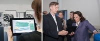 Fraunhofer: Bundesarbeitsministerin informiert sich über Assistenz-Systeme bei Industrie 4.0