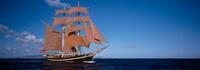 Ältester Rahsegler - Eye of the Wind - bei der Hanse Sail