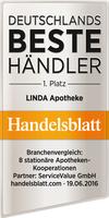 """Verbraucher wählen LINDA Apotheken zum """"Besten stationären Händler 2016"""""""