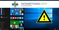 Datenrettungslabor.de empfiehlt: Windows 10 noch kostenlos installieren - aber vorsicht vor dem Überschreiben von Daten!