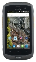 simvalley Outdoor-Smartphone SPT-940, Android 5.1, IP67, LTE