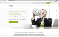 CSS Website präsentiert sich in neuem Look & Feel