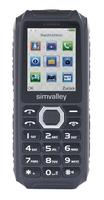 simvalley MOBILE Outdoor-Dual-SIM-Handy mit Powerbank-Akku