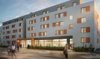 Ein neues Studentenwohnheim in Essen mit 135 Plätzen baut die GBI AG auf einem von ALDI Nord erworbenen Grundstück