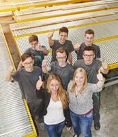 AMI Förder- und Lagertechnik GmbH fördert junge Menschen