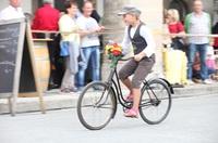 Hingucker: Historische Räder und Wannenbäder