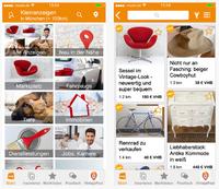 markt.de Kleinanzeigen-App mit neuer Version für iOS