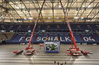 Hisense präsentiert Europas größten Videowürfel in der VELTINS-Arena